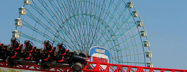 Das Eurowheel im italienischen Freizeitpark Mirabilandia © Jeremy Thompson