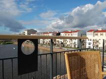 Yachthafen und Appartements:
