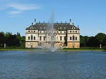 Palais im Großen Garten Dresden. © Allie_Caulfield